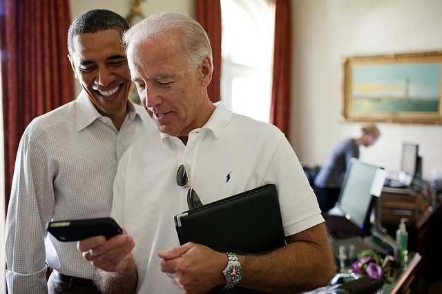Barack Obama hat ein BlackBerry
